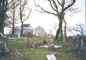 Granlahan church and graveyard
