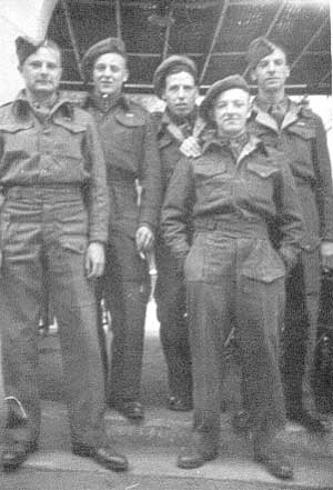 On leave in Cairo, late 1945