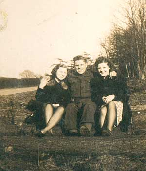 Cath and John Connolley in Sherwood Forest