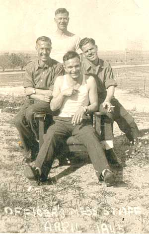 Syria - Officers Mess Staff, April 1945
